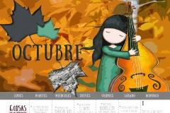Calendario 2017 - Octubre