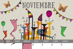 Calendario 2017 - Noviembre