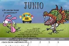 Calendario 2017 - Junio