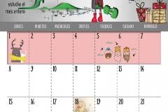 Calendario 2018 - Enero