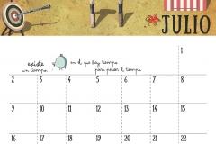 Calendario 2018 - Julio