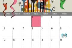 Calendario 2018 - Noviembre
